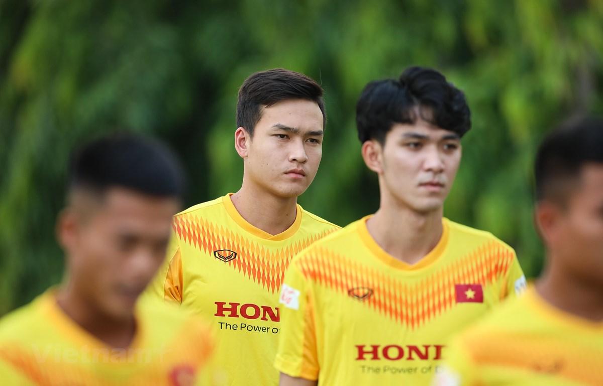 """U22 Việt Nam có tới 47 cầu thủ nên """"tỷ lệ chọi"""" cho suất dự SEA Games 31 rất cao. (Ảnh: Phúc Tá/Vietnam+)"""