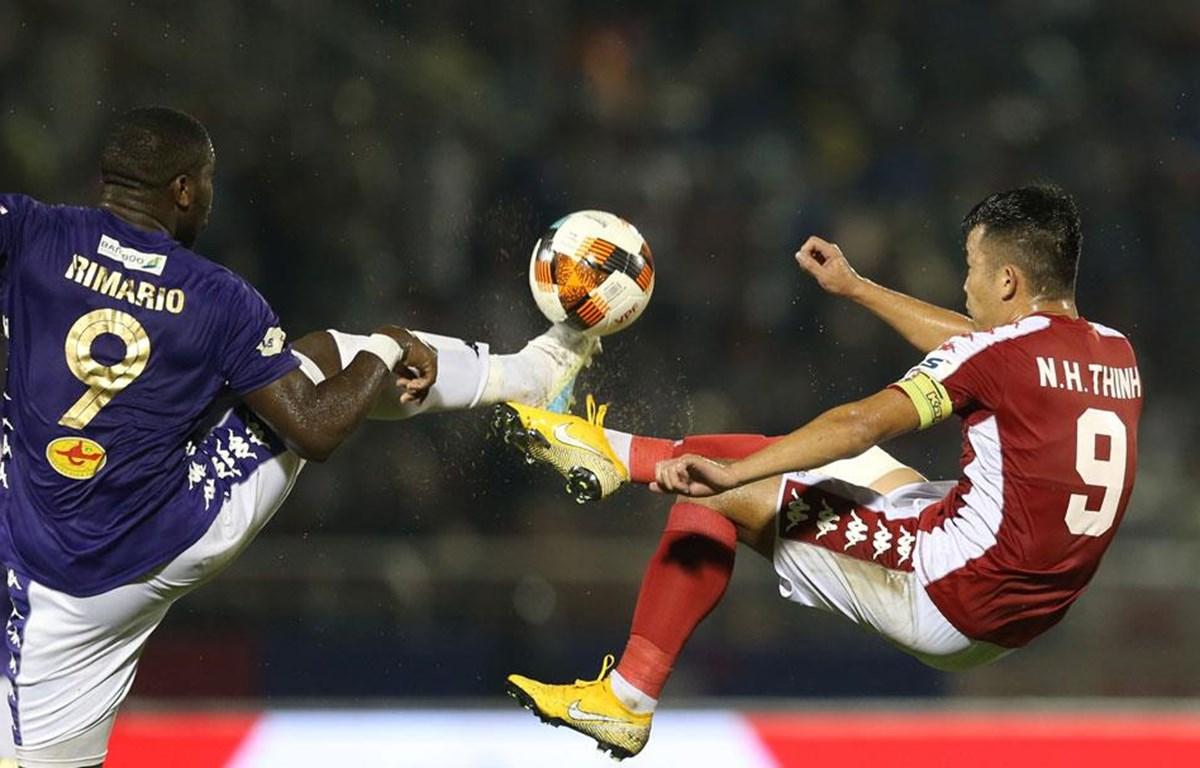 Hà Nội FC đối đầu TP.HCM ở bán kết cúp Quốc gia 2020. (Ảnh: VPF)