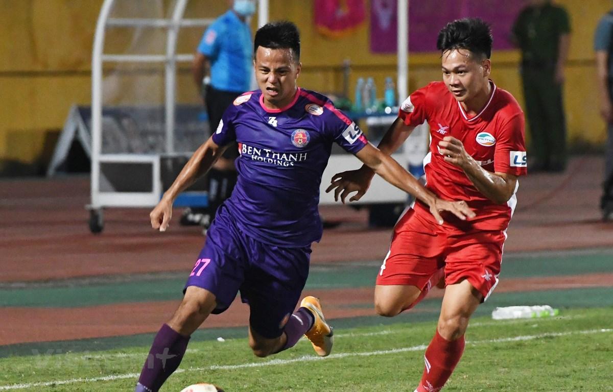 Sài Gòn FC đặt mục tiêu vô địch V-League 2020 sau giai đoạn một. (Ảnh: Giang Hiển/Vietnam+)