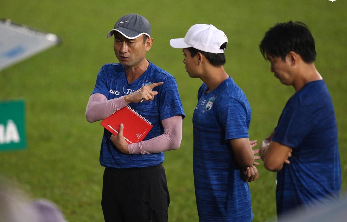 Hoàng Anh Gia Lai đẩy huấn luyện viên Lee Tae-hoon lên vị trí Giám đốc kỹ thuật. (Ảnh: CLB HAGL)