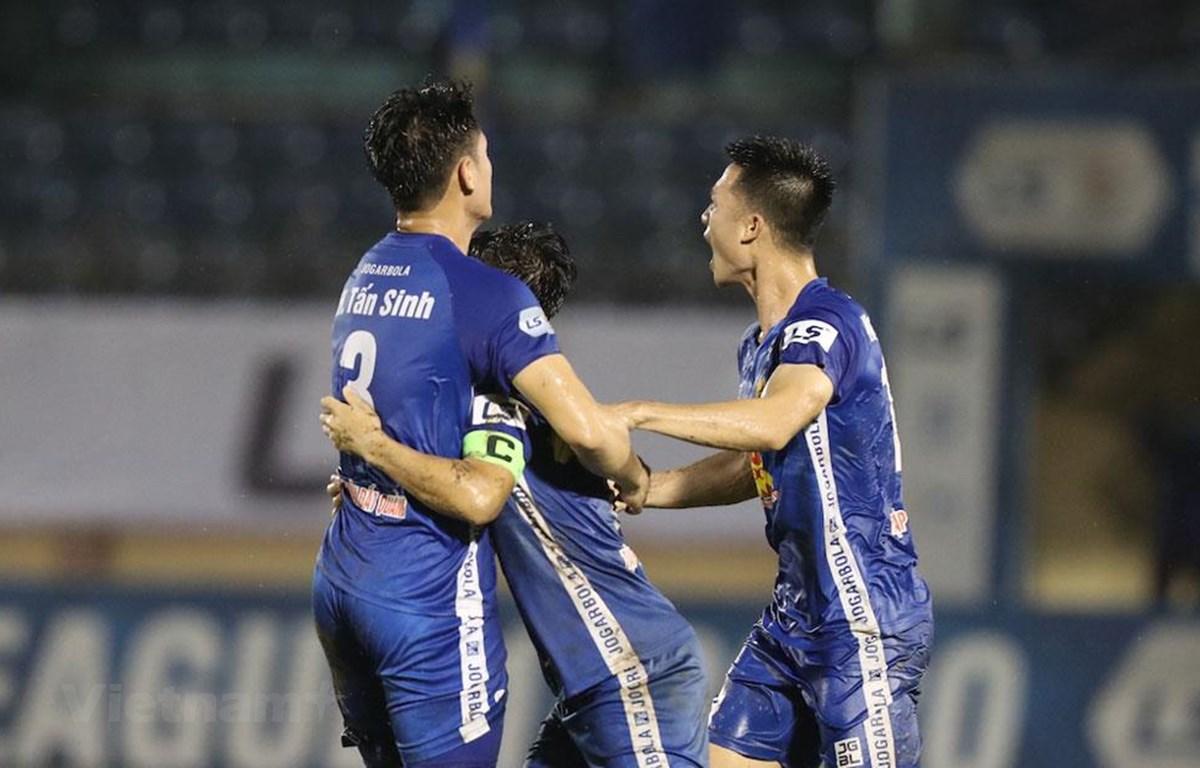 Quảng Nam còn cơ hội trụ hạng ở V-League 2020. (Ảnh: VPF)