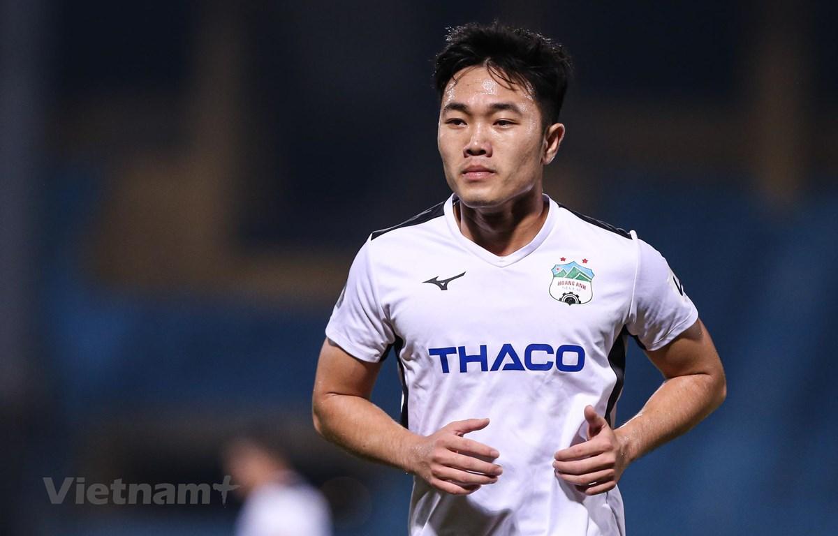 Hoàng Anh Gia Lai đang 'đá cho vui' ở V-League 2020. (Ảnh: Hiển Nguyễn/Vietnam+)