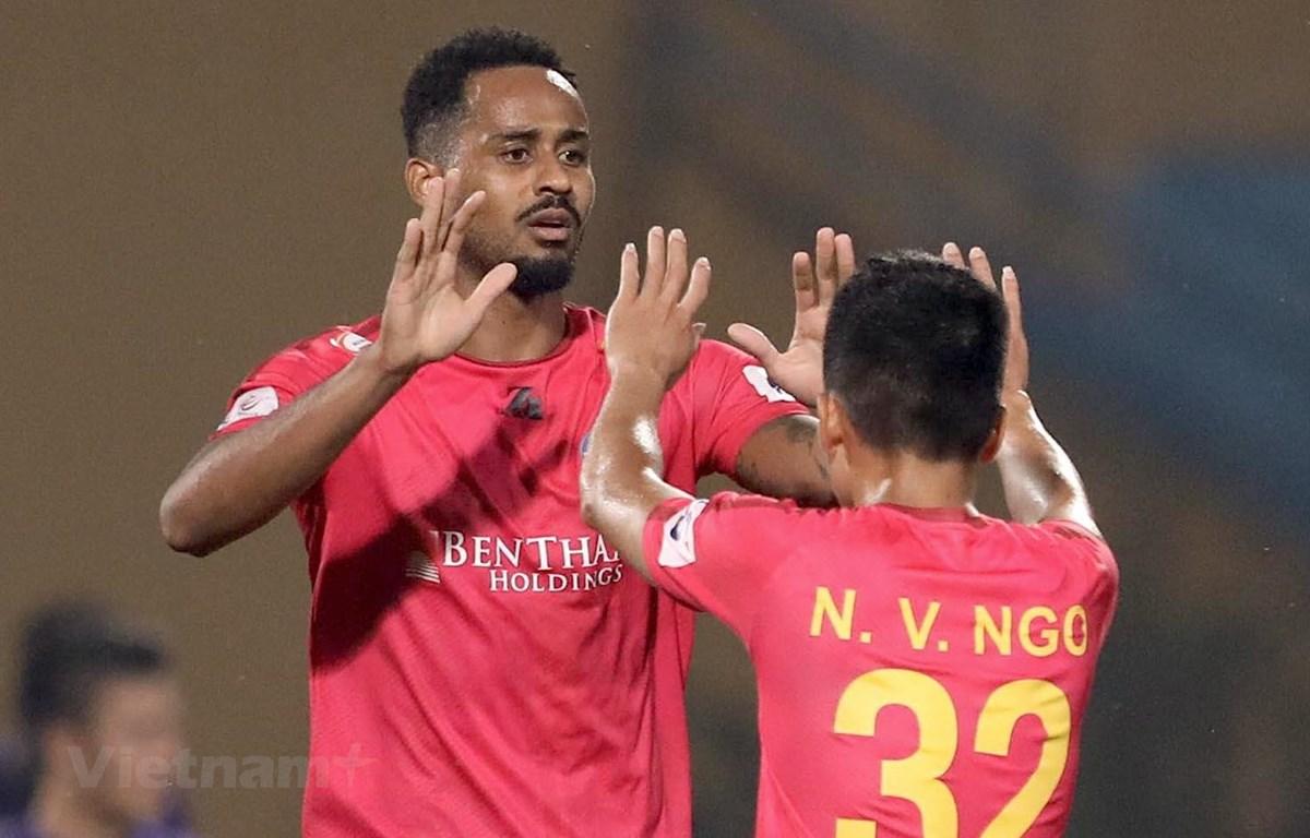 Sài Gòn FC chia tay 16 cầu thủ ngay sau khi V-League 2020 hạ màn. (Ảnh: Hiển Nguyễn/Vietnam+)