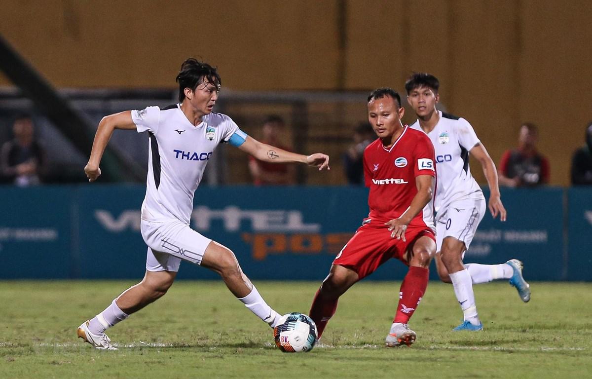 Hoàng Anh Gia Lai sẽ cạnh tranh chức vô địch V-League ở mùa giải 2021. (Ảnh: Hiển Nguyễn/Vietnam+)
