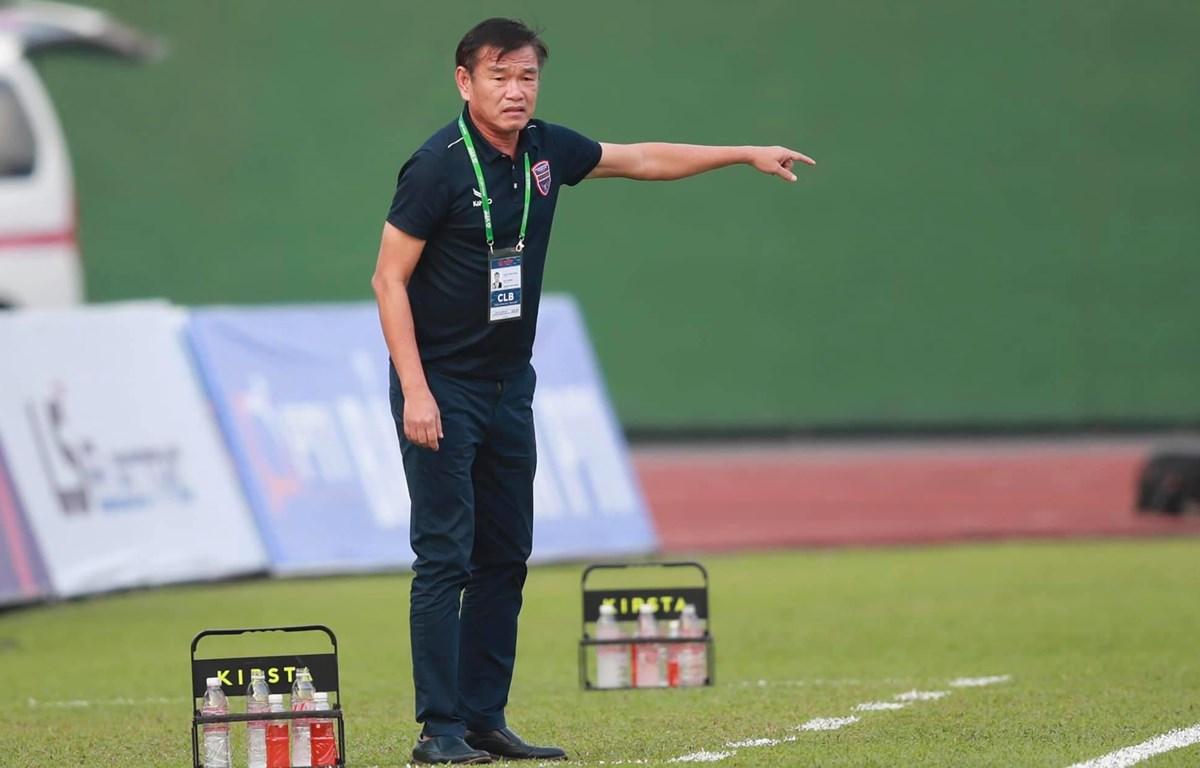 Huấn luyện viên Phan Thanh Hùng dẫn dắt Becamex Bình Dương