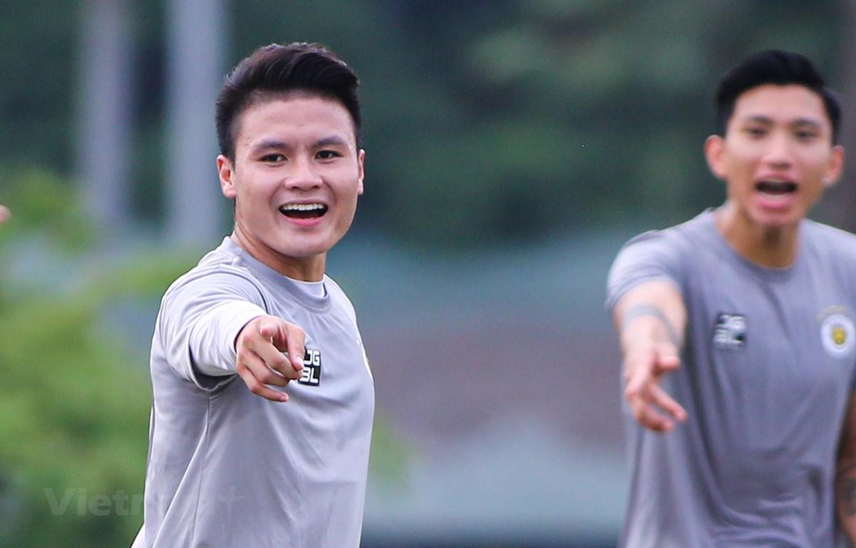 Tiền vệ Quang Hải một lần nữa khát khao tiếp tục gặt hái hàng loạt thành công trong sự nghiệp trong năm 2021. (Ảnh: Hiển Nguyễn/Vietnam+)