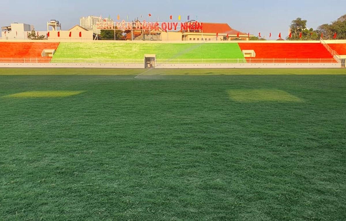 Sân vận động Quy Nhơn. (Ảnh: CLB Bình Định)