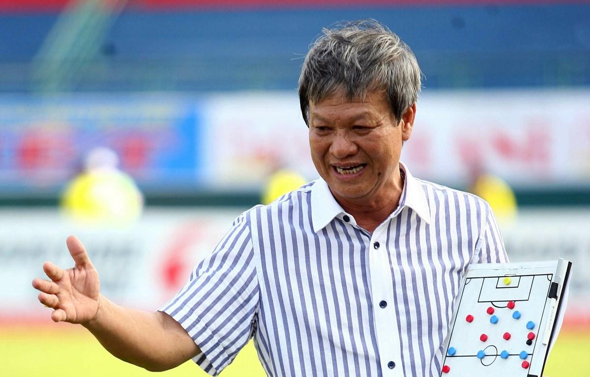 Huấn luyện viên Lê Thủy Hải nổi tiếng với những phát biểu thẳng thắn. (Ảnh: VnExpress)