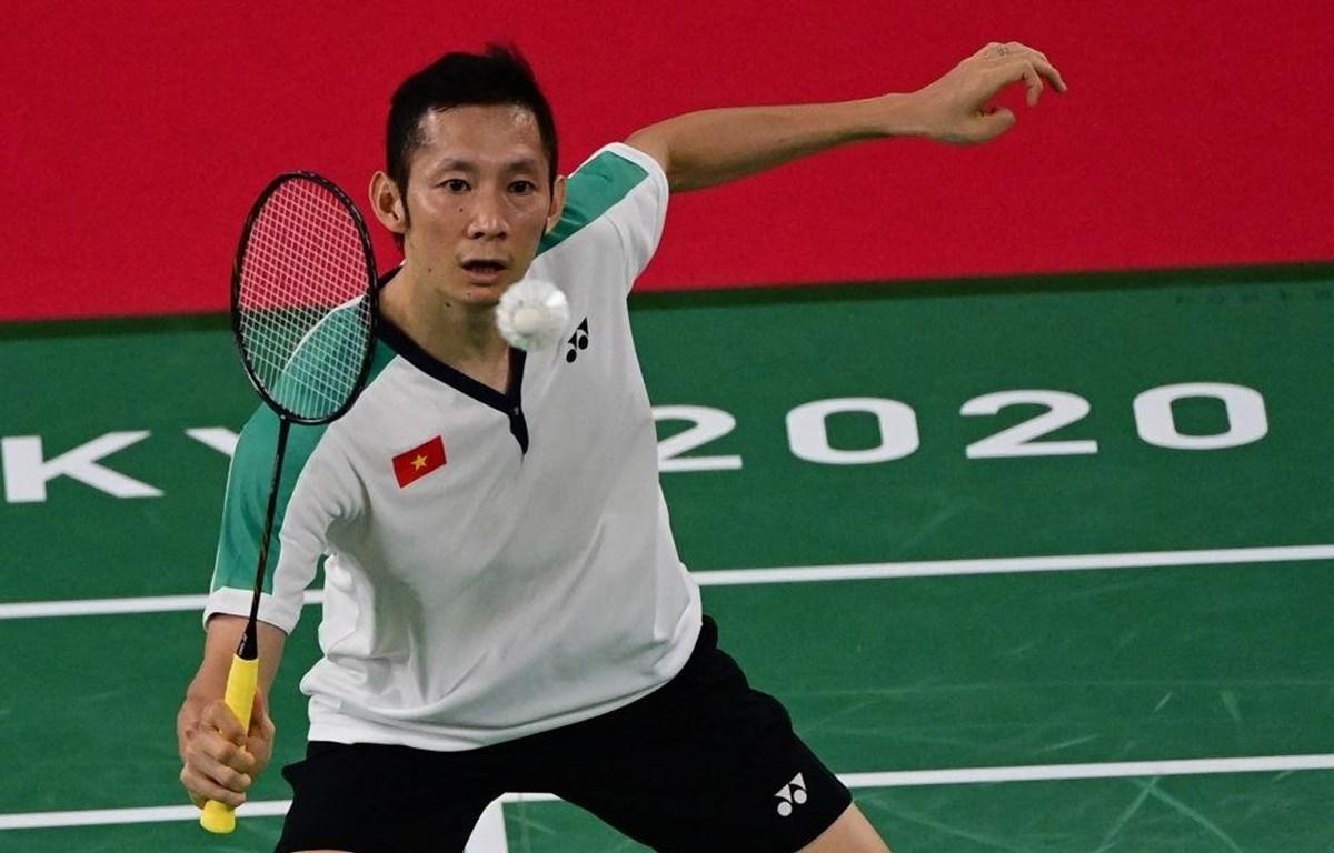 Nguyễn Tiến Minh thi đấu tại Olympic Tokyo 2020. (Ảnh: Getty Images)