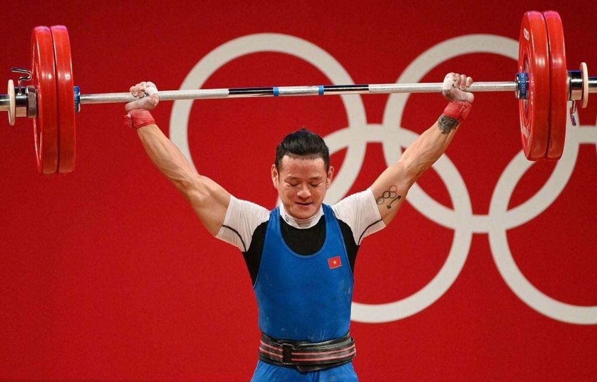 Thạch Kim Tuấn thi đấu tại Olympic Tokyo 2020. (Ảnh: Getty Images)