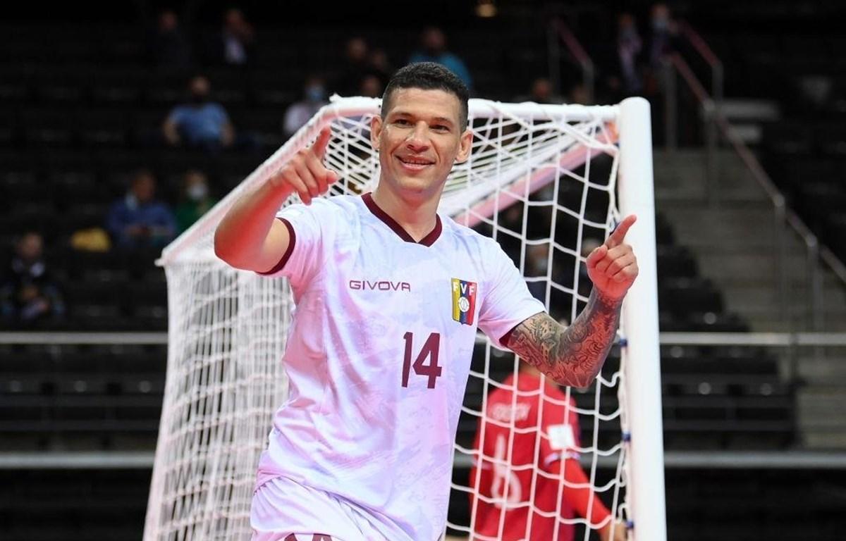 Venezuela vào vòng loại trực tiếp trong lần đầu dự FIFA Futsal World Cup. (Ảnh: Getty Images)