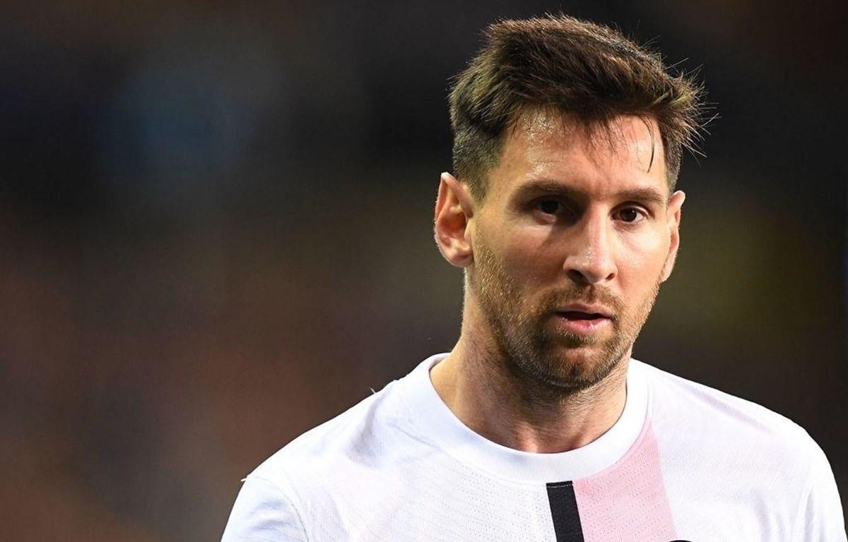 Messi mờ nhạt trong lần đầu đá chính cho PSG. (Ảnh: Getty Images)