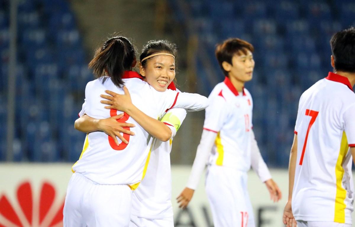 Nếu tận dụng cơ hội tốt hơn, tuyển nữ Việt Nam có thể ghi tới 20 bàn vào lưới Maldives. (Ảnh: AFC)