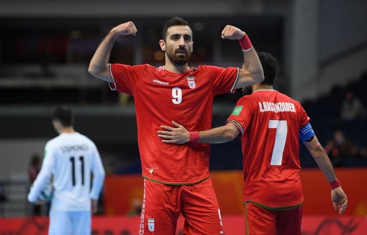 Iran là đội bóng châu Á duy nhất góp mặt ở vòng tứ kết FIFA Futsal World Cup 2021. (Ảnh: Getty Images)