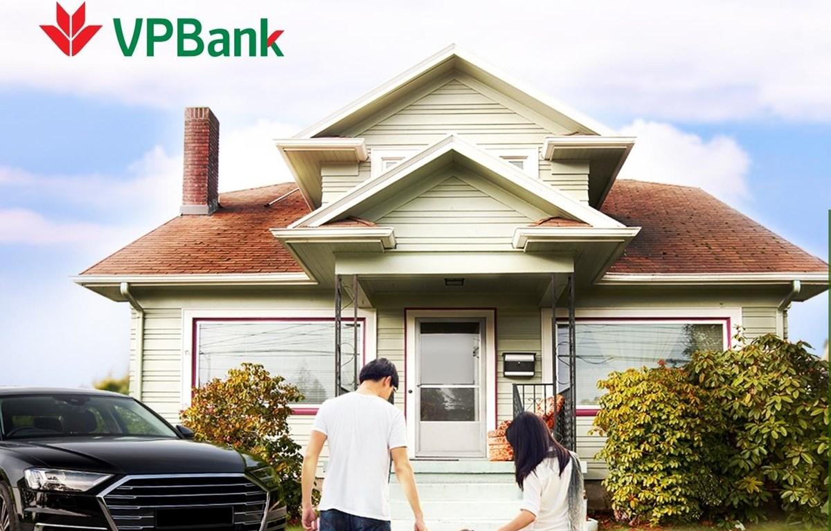 VPBank dành nhiều ưu đãi cho khách hàng vay sản phẩm Home Plus và Car Plus. (Ảnh: CTV/Vietnam+)