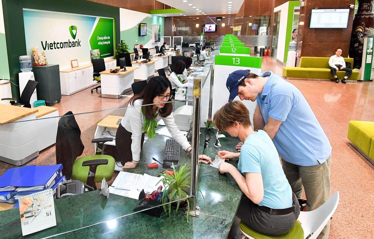 Môi trường làm việc chuyên nghiệp, hiện đại và thân thiện đã đưa Vietcombank luôn trong tốp đầu danh sách nơi làm việc tốt nhất Việt Nam nhiều năm qua. (Ảnh: CTV/Vietnam+)
