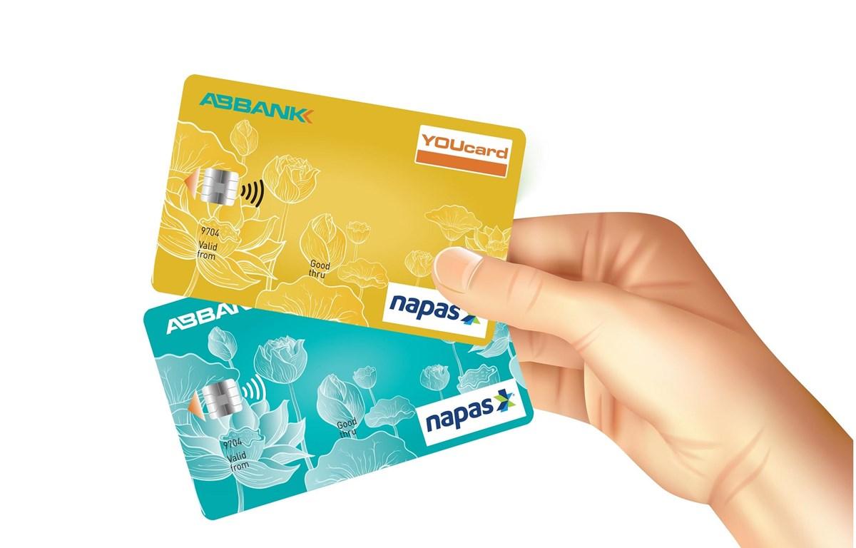 Thẻ chip ghi nợ nội địa ABBANK YOUcard. (Ảnh: CTV)
