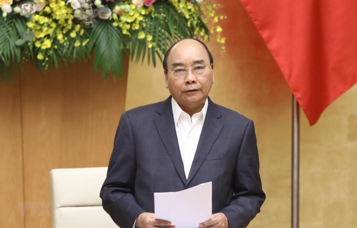 Thủ tướng Nguyễn Xuân Phúc. (Ảnh: Văn Điệp/TTXVN)