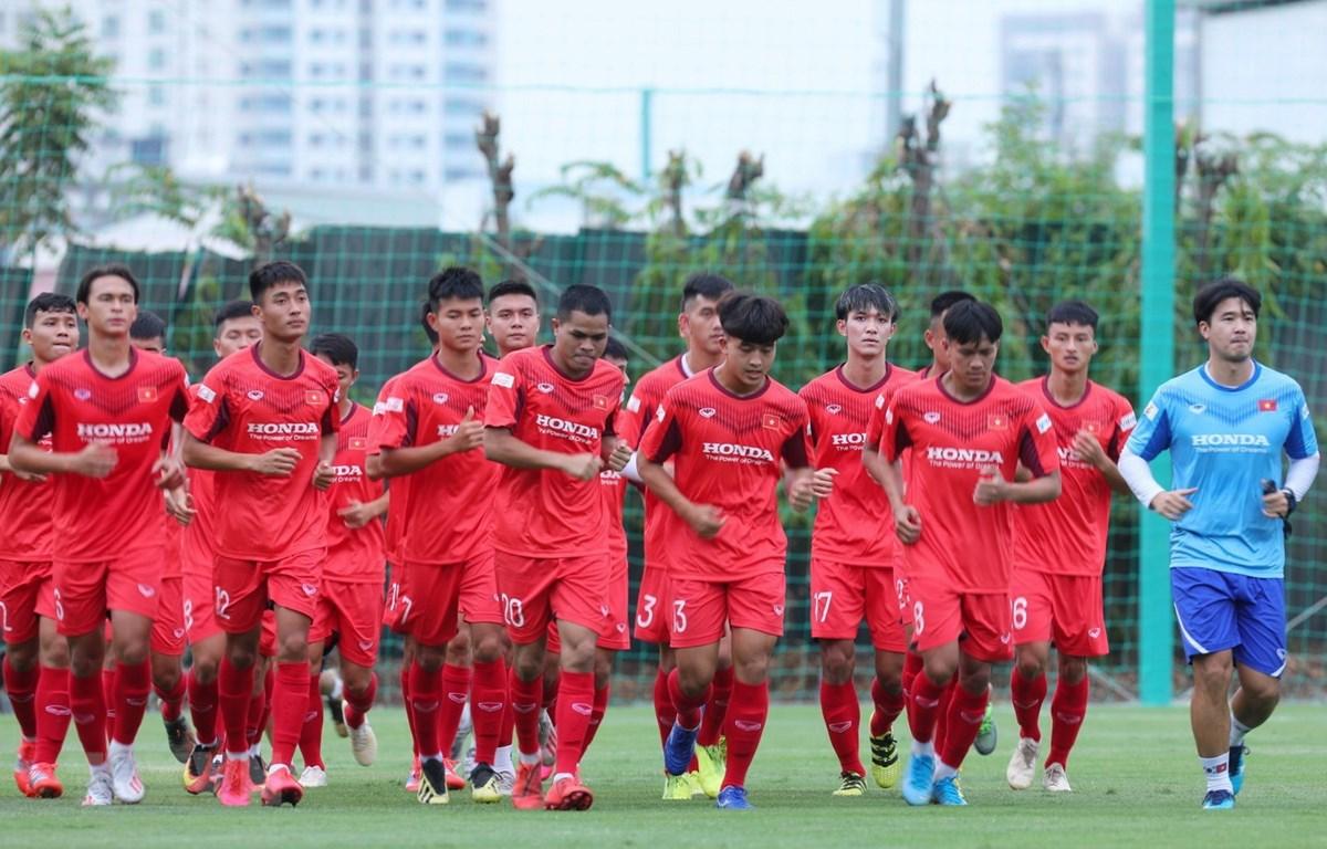 U22 Việt Nam sẽ tập trung từ ngày 2-6/11 tại Trung tâm đào tạo bóng đá trẻ Việt Nam (Hà Nội). (Ảnh: Hiển Nguyễn/Vietnam+)
