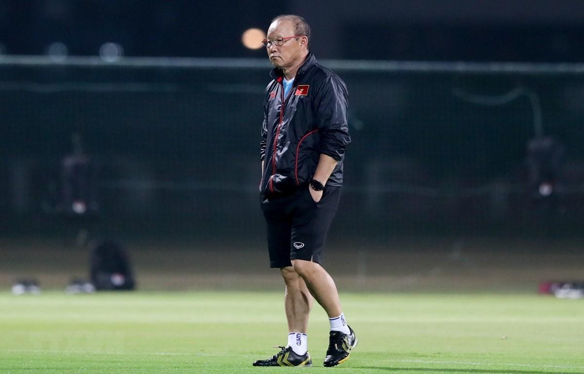 Huấn luyện viên Park Hang-seo. (Ảnh: TTXVN)