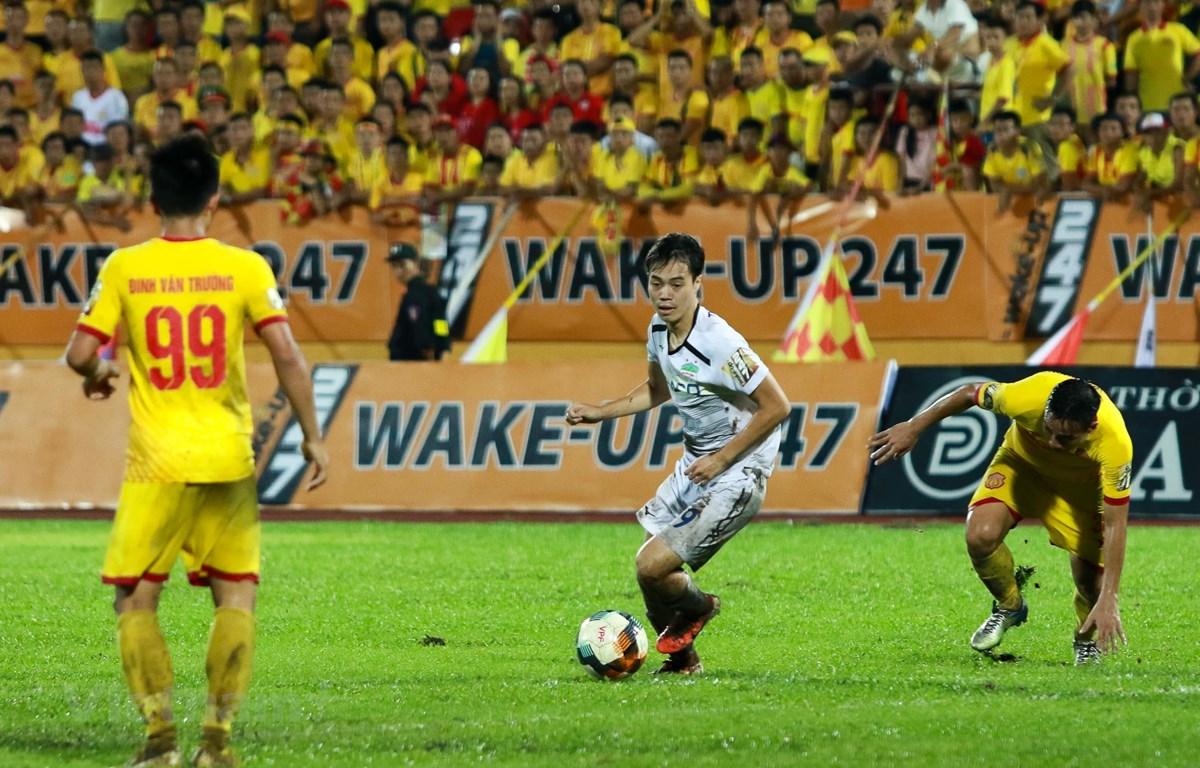 V-League 2020 có khả năng diễn ra không khán giả ở các vòng đấu đầu tiên do dịch bệnh COVID-19. (Ảnh: Nguyên An/Vietnam+)