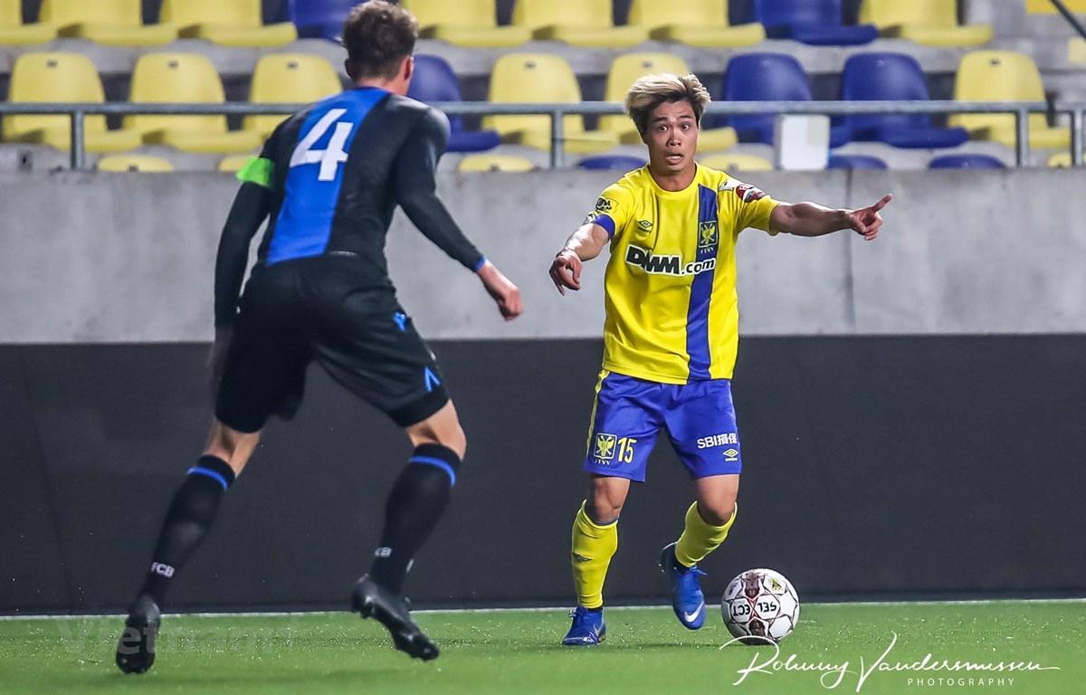 Đội bóng cũ của Công Phượng là Sint-Truidense sớm kết thúc mùa giải 2019/2020 với vị thứ 12 chung cuộc. (Ảnh: Sint-Truidense)