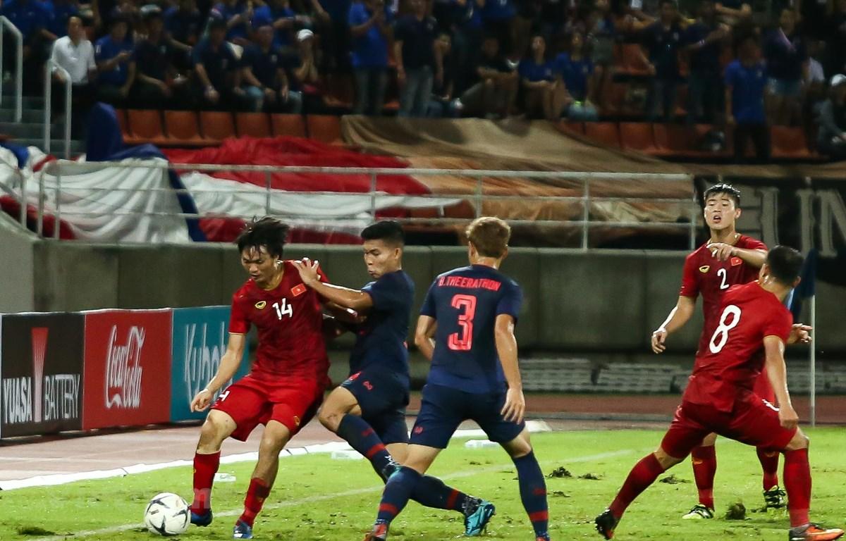 Tuyển Thái Lan hiện chỉ đứng thứ ba ở bảng G, kém Việt Nam 3 điểm. (Ảnh: Nguyên An/Vietnam+)