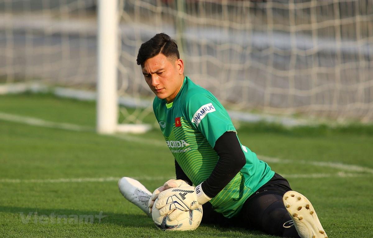 Đặng Văn Lâm chưa đưa ra quyết định cuối cùng về việc chuyển tới đội bóng nào trong tương lai. (Ảnh: Hiển Nguyễn/Vietnam+)