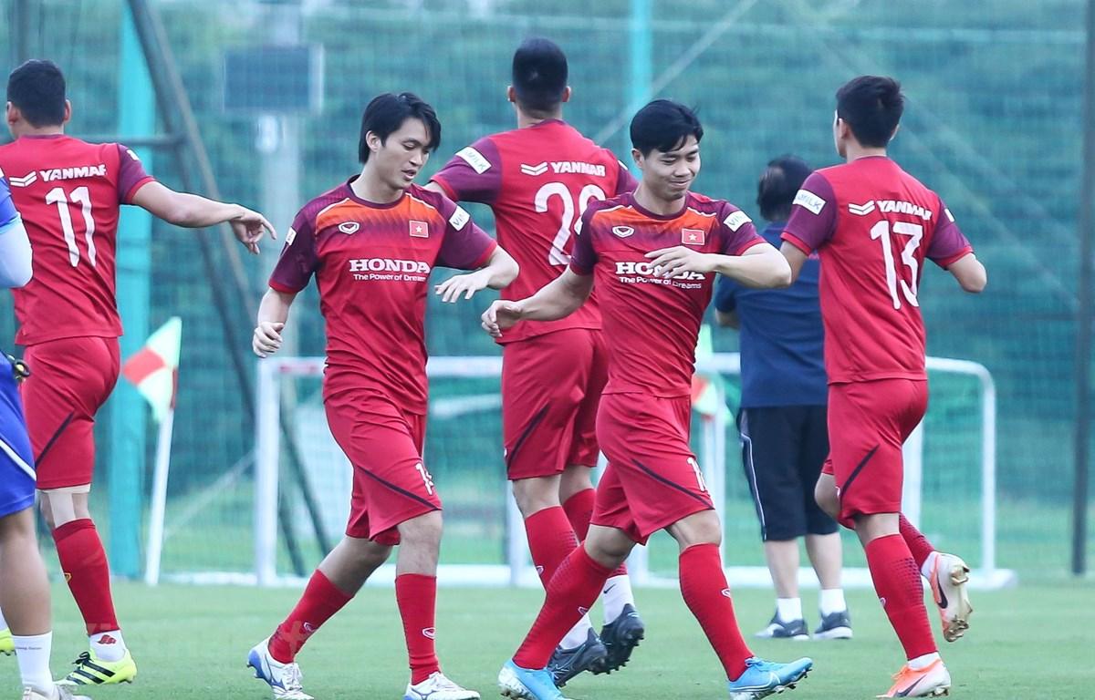 Đội tuyển Việt Nam tập trung giữa tháng Tám này tại Hà Nội. (Ảnh: Nguyên An/Vietnam+)