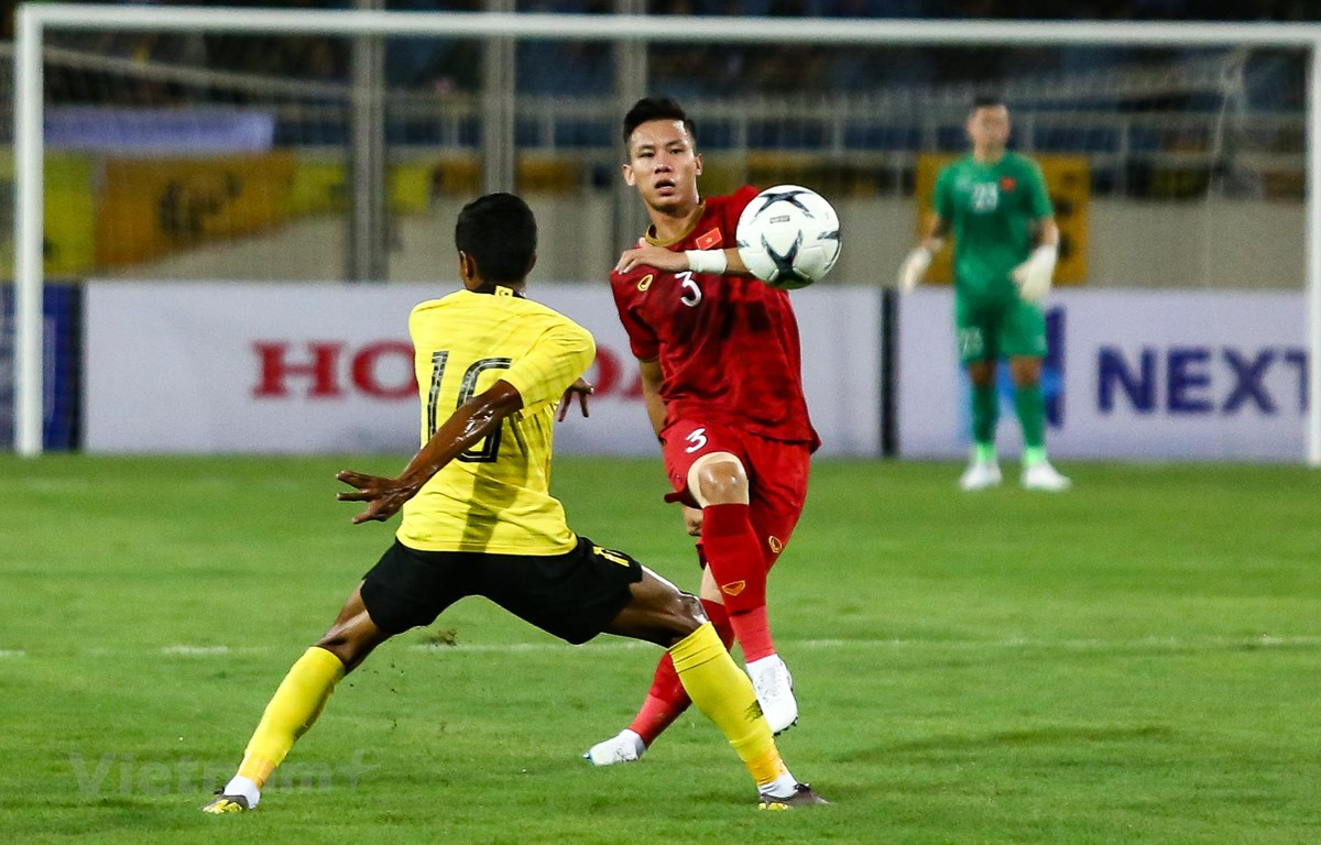 Đội tuyển Việt Nam đang chiếm lợi thế lớn ở vòng loại World Cup 2022. (Ảnh: Hiển Nguyễn/Vietnam+)