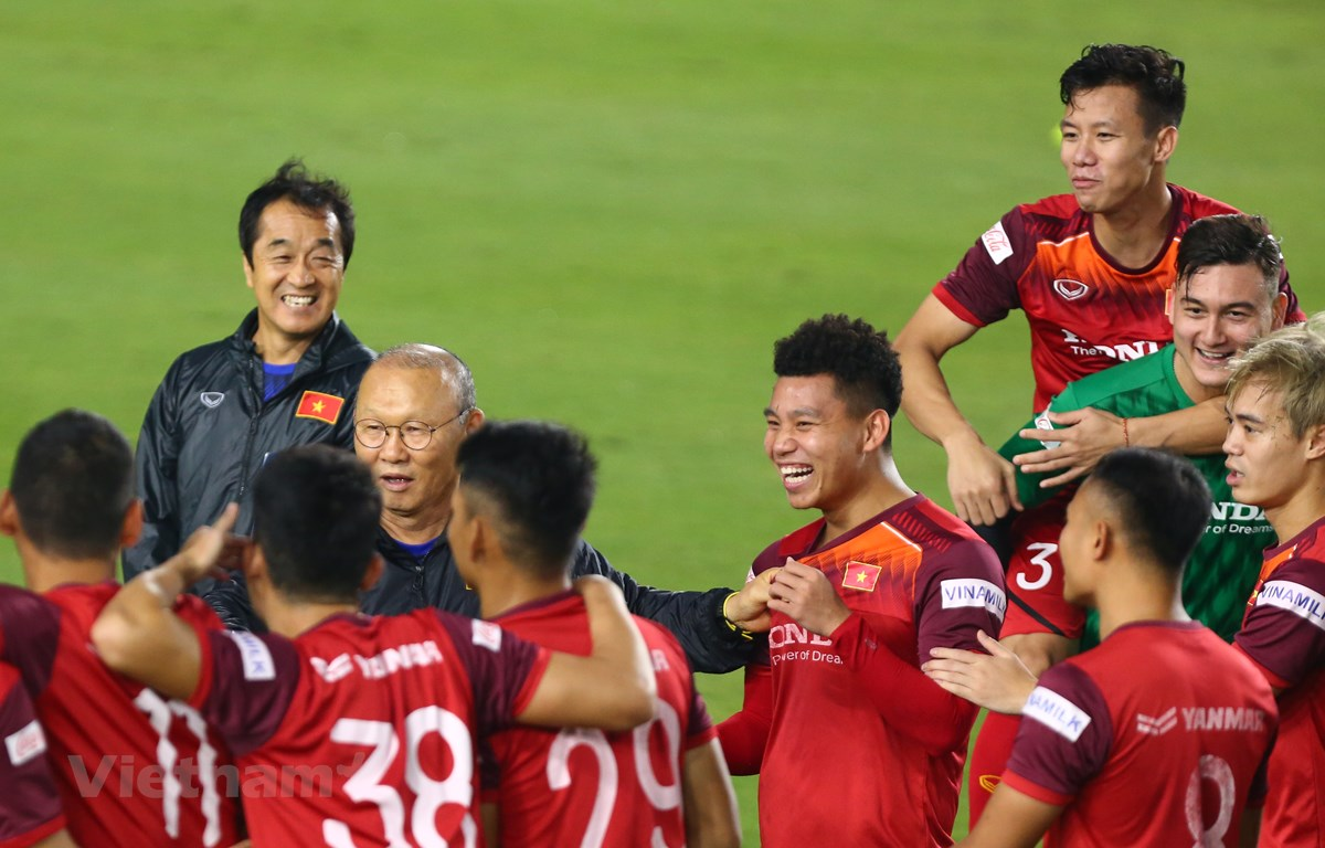 Liên đoàn bóng đá Việt Nam đảm bảo các hoạt động các đội tuyển quốc gia không bị ảnh hưởng vì dịch bệnh COVID-19. (Ảnh: Nguyên An/Vietnam+)