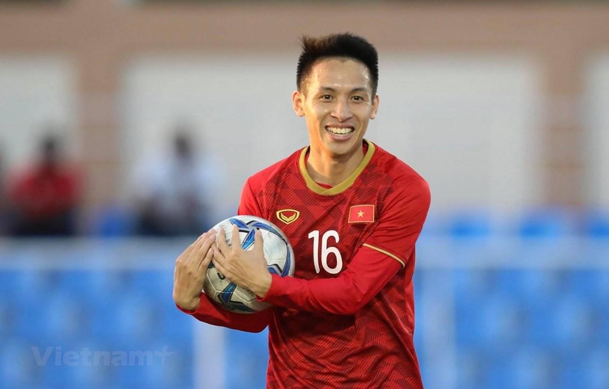Hùng Dũng giành Quả bóng vàng 2019 với thành tích giành tấm Huy chương vàng SEA Games lịch sử. (Ảnh: Nguyên An/Vietnam+)