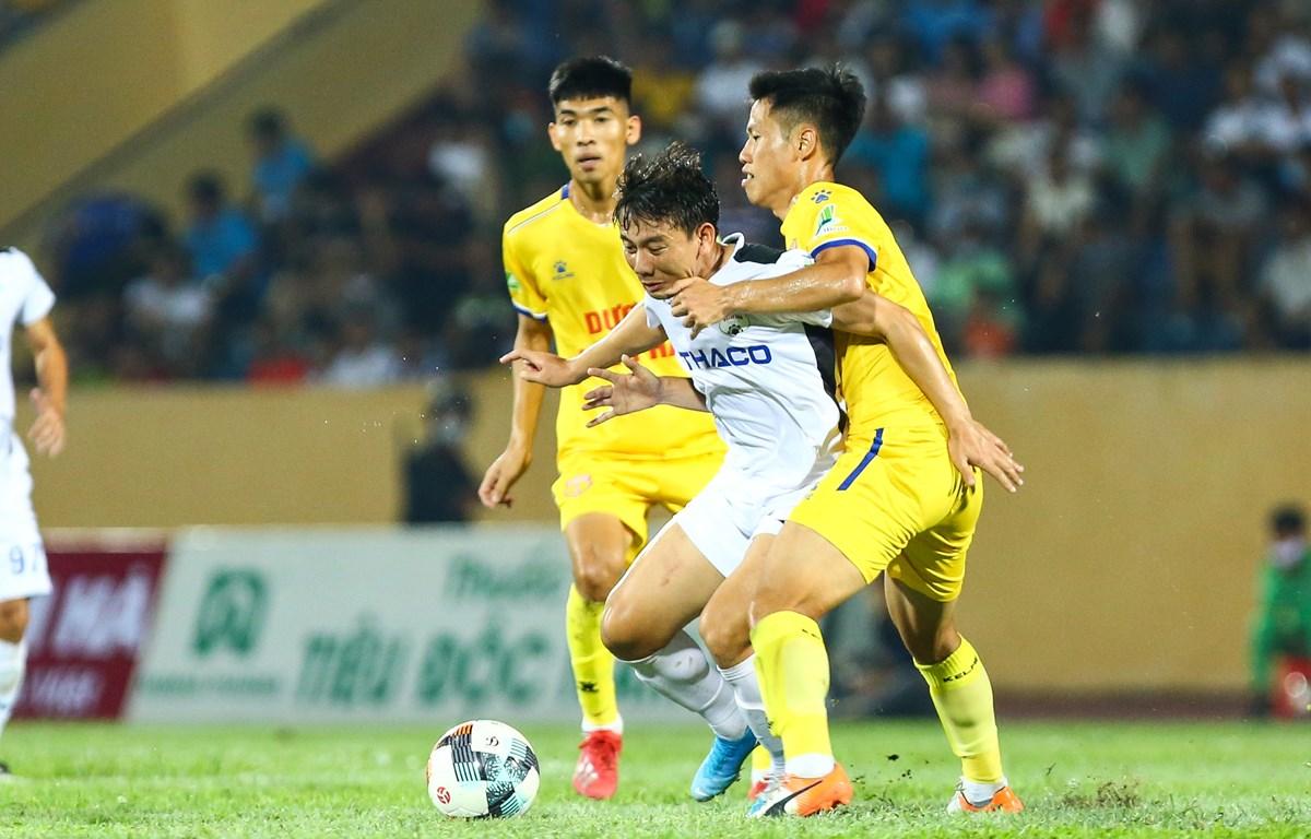 V-League 2020 nhiều khả năng bị hoãn vô thời hạn do diễn biến mới nhất của dịch COVID-19 tại Đà Nẵng. (Ảnh: Nguyên An/Vietnam+)