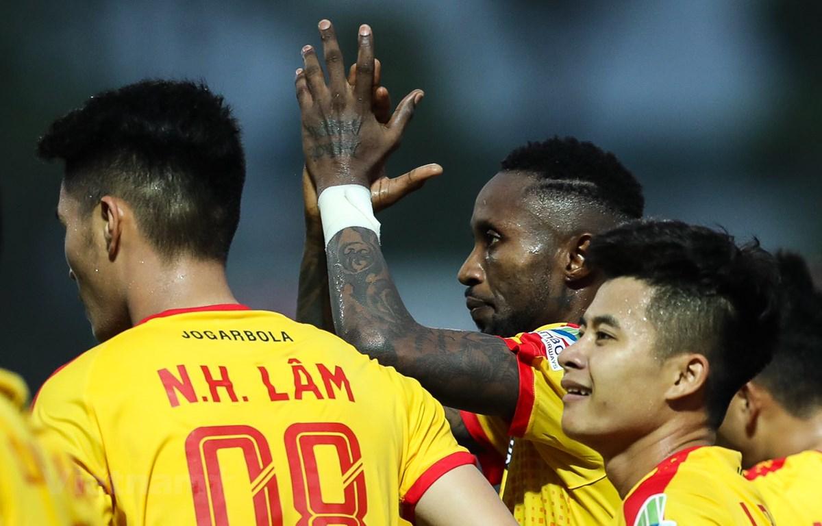 Câu lạc bộ Thanh Hóa không muốn rút khỏi V-League 2020 như công văn gửi VFF chiều 5/8. (Ảnh: Phúc Tá/Vietnam+)