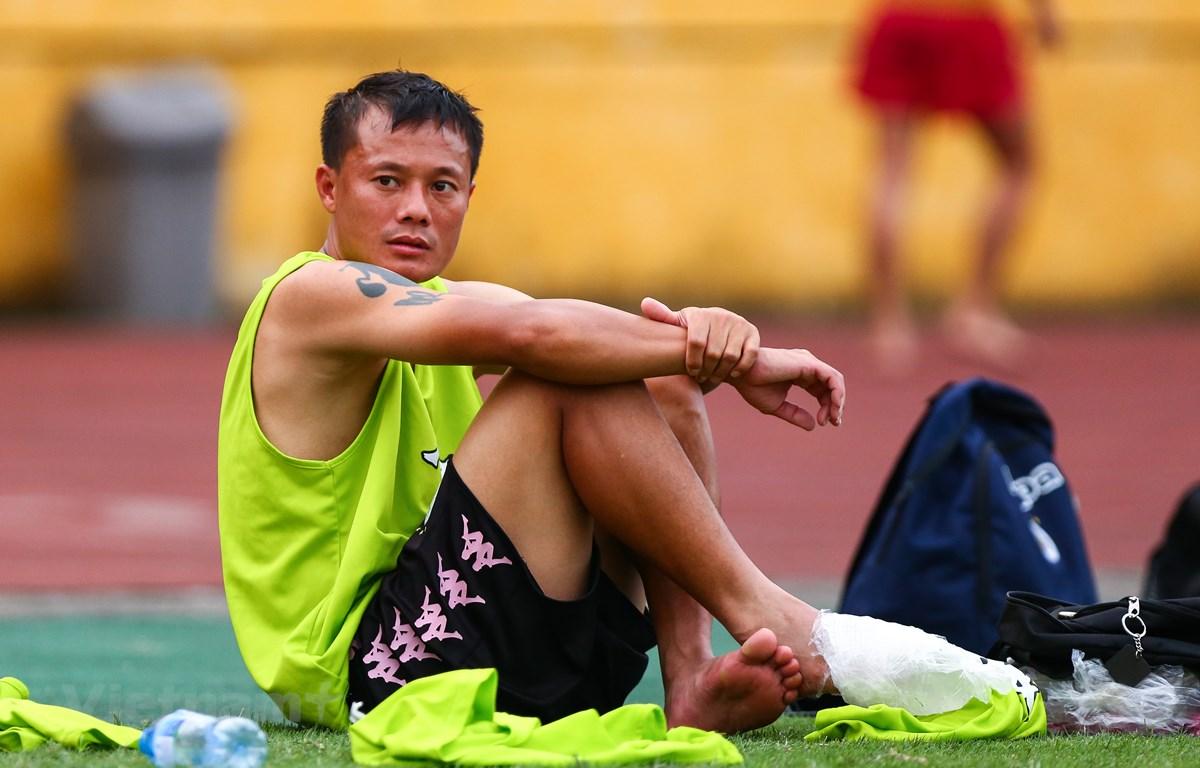 Tiền vệ Thành Lương bỏ ngỏ khả năng trở lại đội tuyển Việt Nam thi đấu. (Ảnh: Nguyên An/Vietnam+)