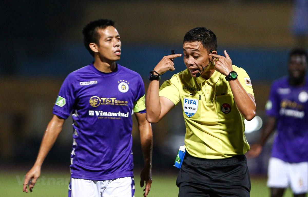 VPF không muốn sử dụng trọng tài ngoại ở các giải bóng đá chuyên nghiệp Việt Nam. (Ảnh: Hiển Nguyễn/Vietnam+)