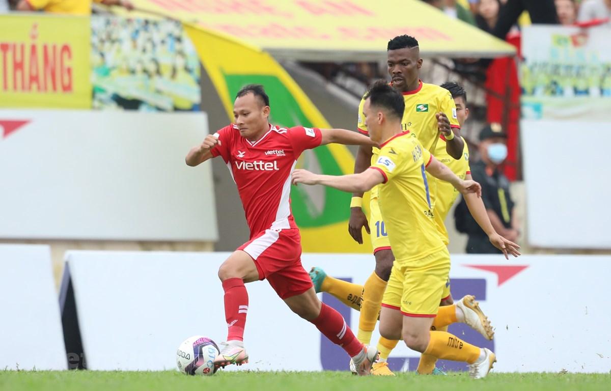 Phần còn lại của V-League dự kiến bắt đầu từ 31/7 đến 22/8. (Ảnh: PV/Vietnam+)