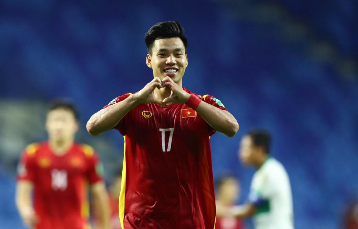 Đội tuyển Việt Nam nằm bảng B cùng với Nhật Bản, Australia, Saudi Arabia, Trung Quốc và Oman tại vòng loại thứ ba World Cup 2022. (Ảnh: Bongda24h.vn)