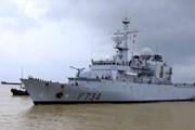 Tàu Tuần dương Vendémiaire của Pháp thăm thành phố Đà Nẵng