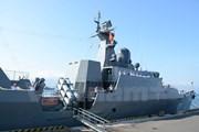 [Video] Tàu hộ vệ tên lửa Đinh Tiên Hoàng thăm Singapore