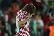 Luka Modric nghẹn ngào rơi lệ sau khi Croatia thua Bồ Đào Nha
