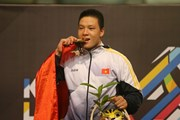 [Photo] Nguyễn Văn Trí giành HCV bằng chiến thắng tuyệt đối