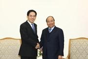 Thủ tướng Nguyễn Xuân Phúc tiếp Đại sứ Trung Quốc đến chào từ biệt