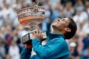 Hình ảnh đáng nhớ trong ngày Nadal đăng quang Roland Garros 2018