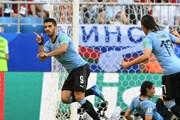 Đánh bại chủ nhà Nga, đội tuyển Uruguay giành ngôi đầu bảng A