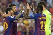 Barcelona thắng hủy diệt 8-2, chiếm ngôi đầu của Real Madrid