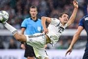 Hình ảnh đáng nhớ trong trận đấu tâm điểm giữa Đức và Pháp