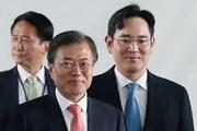 Lãnh đạo các tập đoàn lớn tháp tùng ông Moon Jae-in thăm Triều Tiên