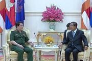 Việt Nam và Campuchia tăng cường hợp tác về quốc phòng