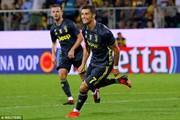 Ronaldo tiếp tục 'nổ súng' giúp Juventus nối dài mạch chiến thắng